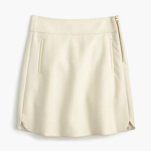 J. Crew Wool Skirt 4/S